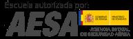 Escuela autorizada por AESA